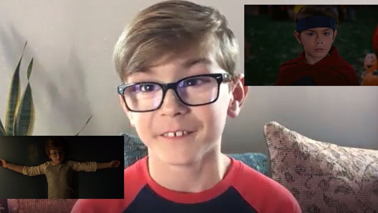 Dallas boy is behind that chilling waterbed scene in the new 'Conjuring' film, and is taking Hollywood by storm