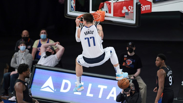 Luka Dončić has ascended to new heights in his third year with Mavericks