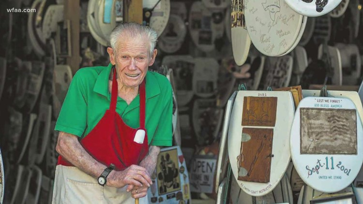 Texas' Weirdest Museums: Barney Smith's Toilet Seat Art Museum