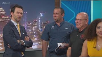 Cousin's Bar-B-Q surprises Daybreak anchor Marc Istook