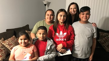 Tornado destroyed their home, car, and school but this surprise changes everything for a Dallas family