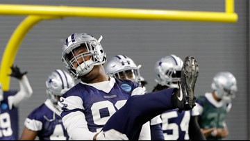 Injuries, rehabs, suspensions opens door for Cowboys DE Dorance Armstrong