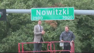 Dallas renames 'Nowitzki Way' to honor Mavericks legend