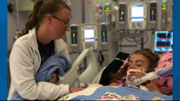 Girl, 10, fighting brain-eating amoeba at Fort Worth hospital