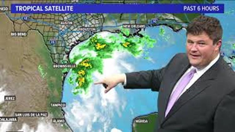 Tracking Nicholas: Storm path, potential rainfall