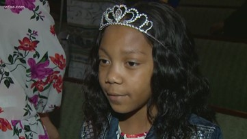 Girl bullied while battling cancer honored at local church