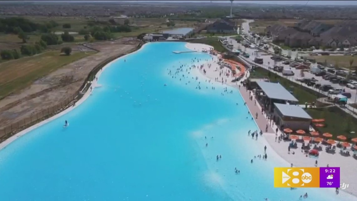 north texas u0026 39  first crystal lagoon is waiting for you at