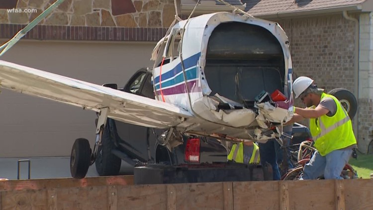 Private plane bounced twice at airport before crashing into