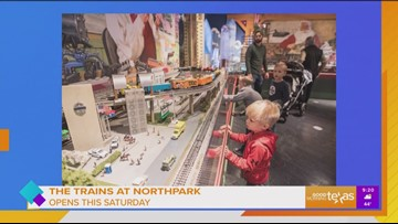 The Trains at NorthPark presented by Bank of Texas opens November 16