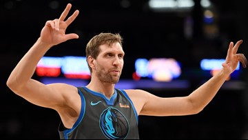 NBA commissioner taps Dirk, D-Wade for special All-Star 'salute'