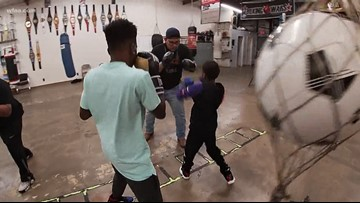 'Put down the guns and pick up the gloves': Brothers fight gun violence through boxing