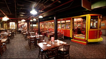 These Spaghetti Warehouse  items could be yours if you bid right now