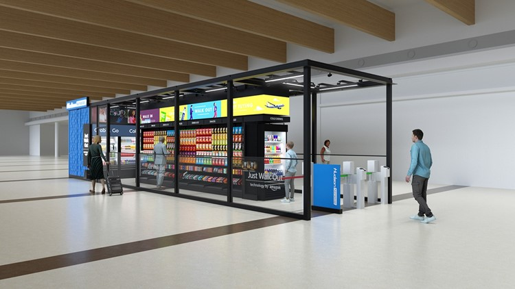 New contactless retail store opens at Dallas Love Field Airport