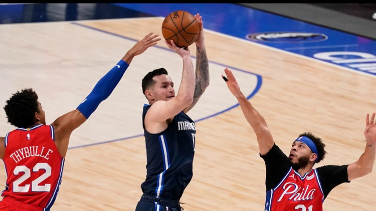 JJ Redick makes his Dallas debut in loss to 76ers | Locked On Mavericks