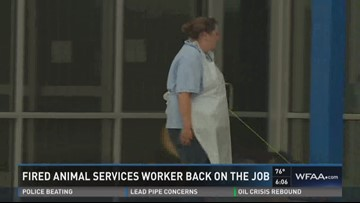 Fired Animal Services Worker
