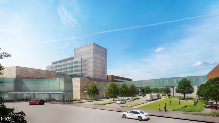 Children's Health expansion will nearly double the size of its Plano campus