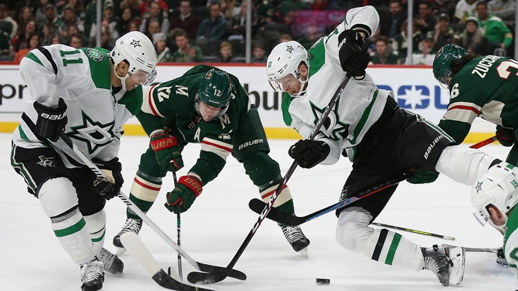 Stalock shuts out Dallas Stars, Minnesota Wild win 7-0