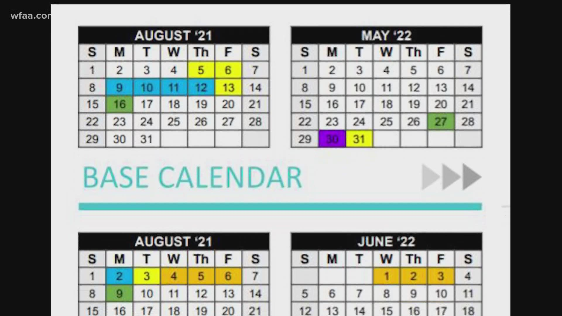 Dallas Isd Calendar 2022.Dallas Isd Looks To Add 23 Instructional Days At Select Campuses To Offset Covid 19 Caused Learning Losses Wfaa Com