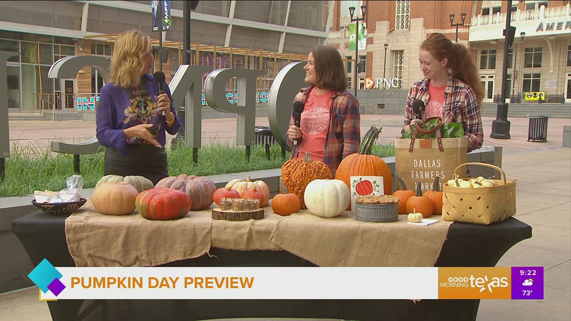 Texas Pumpkin Day at the Dallas Farmer's Market Preview
