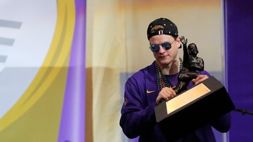 LSU QB Burrow: Top NFL goal is to be a great teammate, great player