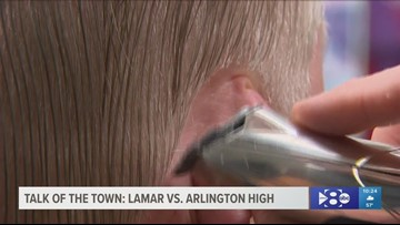 "Biggest game in Arlington ""ever""; Lamar vs. Arlington High"