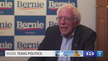 Watch Bernie Sanders explain how he plans to win Texas and other major states in the Democratic presidential race