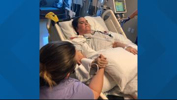 'I knew they'd be there': Mesquite mom says family's visits outside her hospital window fueled her fight against COVID-19