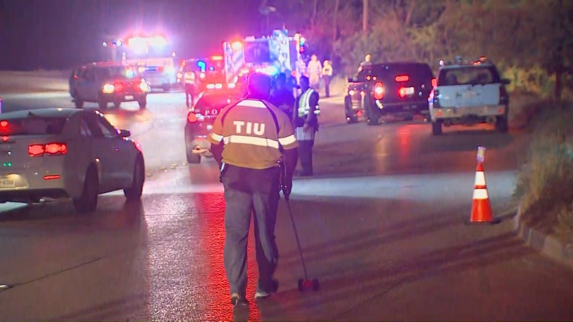 6 dead after fiery high-speed crash in Fort Worth | wfaa com