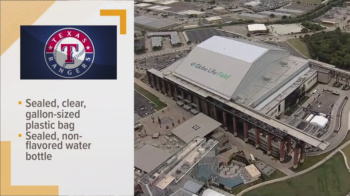 Texas Rangers allowing fans to bring outside food into the ballpark