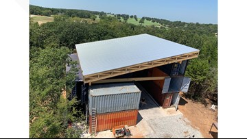 Winemaker starts his own Gainesville-based winery in a building out of recyclable materials