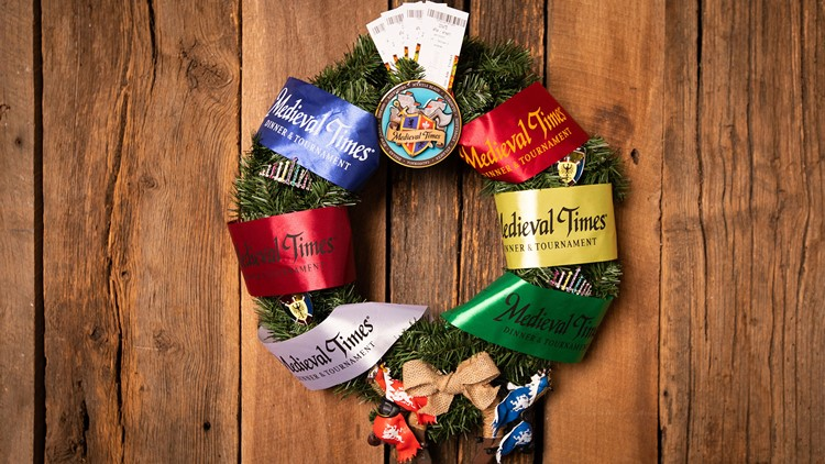 Medieval Times Wreath