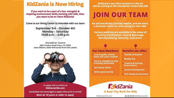 KidZania looks to hire 500 people for its new Frisco location