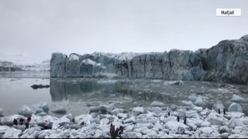 Melting glaciers reveal several new arctic islands