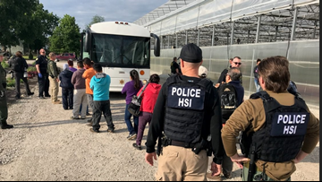 Shock and Awe: Immigration agents raid Sandusky flower and garden center, arrest 114 employees