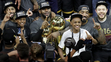 LeBron James says being on same court as son would be greatest achievement of his NBA career