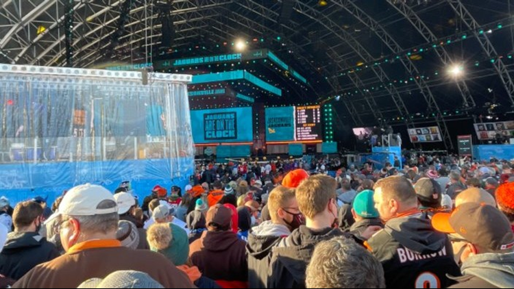 RECAP   2021 NFL Draft wraps in Cleveland: Sights, sounds and top moments