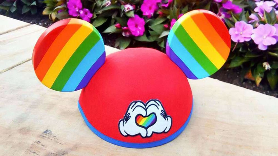 3ae3bdb71 Disney parks start selling rainbow Mickey Mouse ears ahead of Pride Month