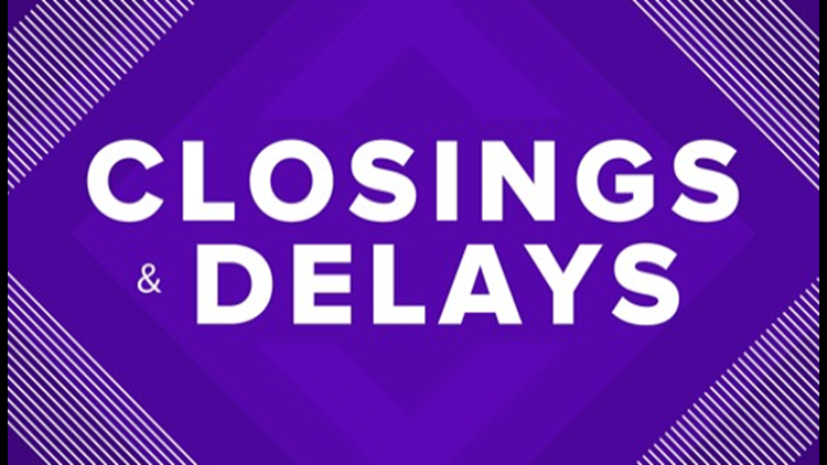 School, government, and business closures across North Texas