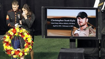 Remembering Chris Kyle: 'American Sniper' would have turned 45 today