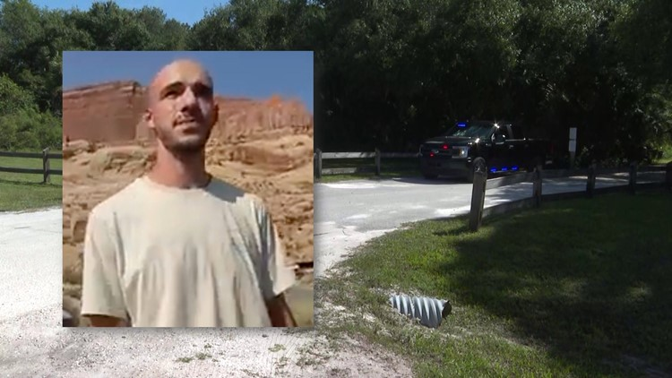 Medical examiner called to Carlton Reserve area in Florida as Brian Laundrie's parents search for son