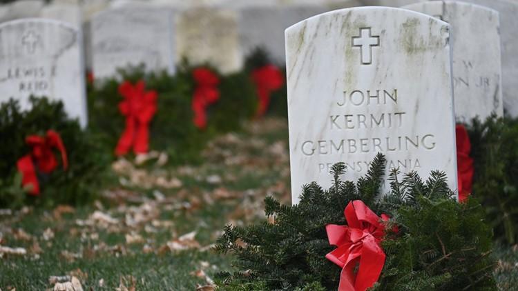 Despite pandemic changes, 250,000 wreaths laid at Arlington National Cemetery
