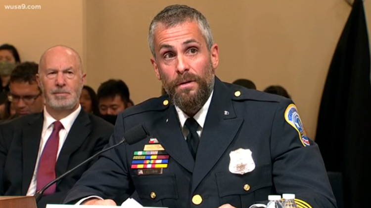 'All of them were saying: Trump sent us'   In first testimony, officers say no confusion about who sparked Capitol riot