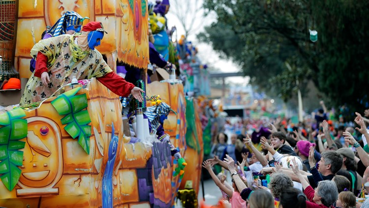 Mardi Gras parades don't meet COVID guidelines, won't happen in 2021 city says