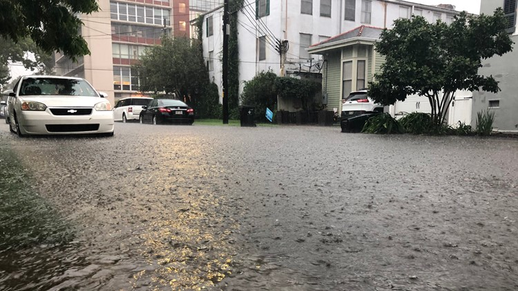 '100-year storm' strikes New Orleans as city already braces for tropical weather