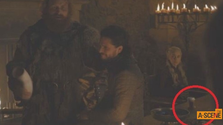Starbucks cup shown in 'Game of Thrones' episode