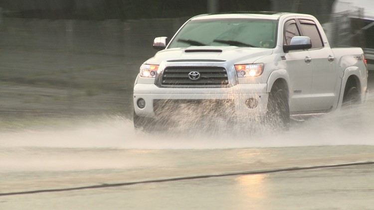Multiple road closures due to high water, TxDOT officials say