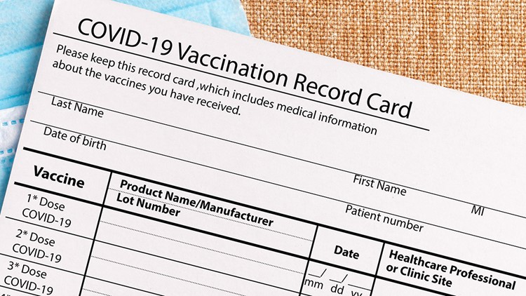 No, you shouldn't laminate your vaccination card. Here's why, and what to do instead