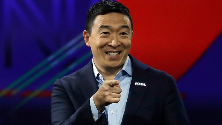 Andrew Yang coming to Dallas for Dec. 6 fundraiser
